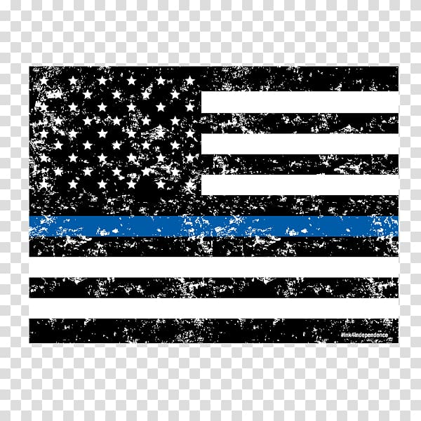 Flag of the United States Thin Blue Line The Thin Red Line.