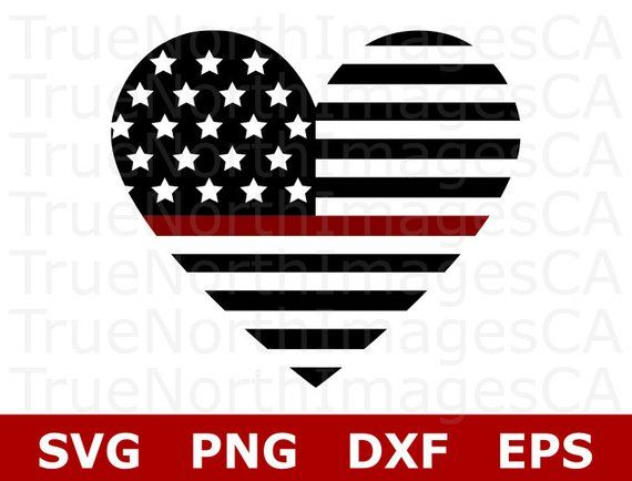 Thin Red Line Flag SVG / Thin Red Line SVG / Firefighter SVG.