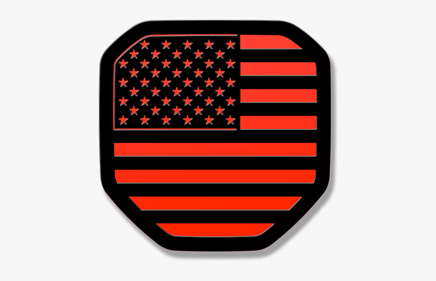 Free Thin Red Line Flag Svg , Free Transparent Clipart.