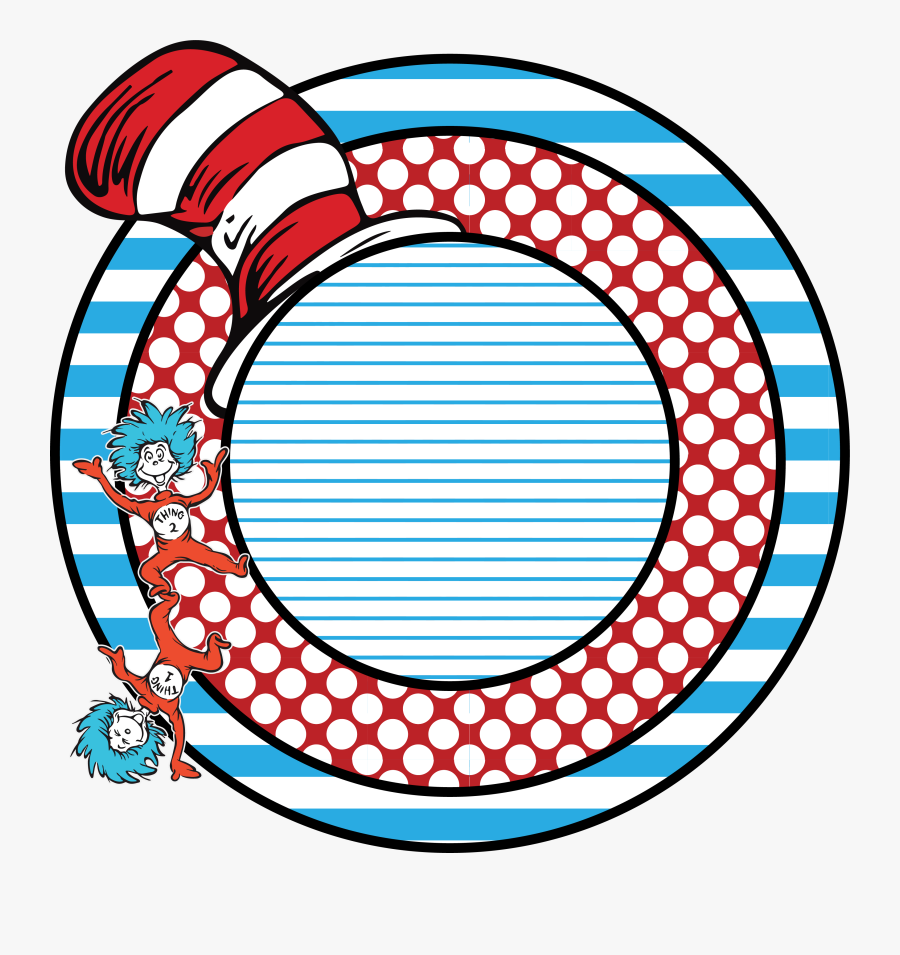 Transparent Thing 1 And Thing 2 Png.