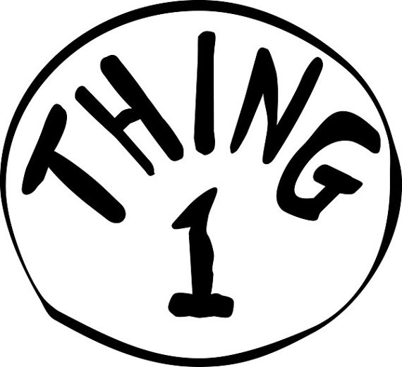 Free Thing 1 Png, Download Free Clip Art, Free Clip Art on.