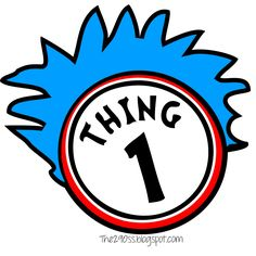 Thing One And Thing Two Clipart at GetDrawings.com.