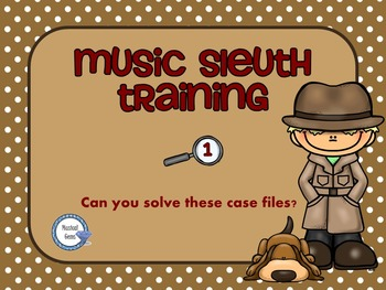 Music Sleuth Training Set 1.