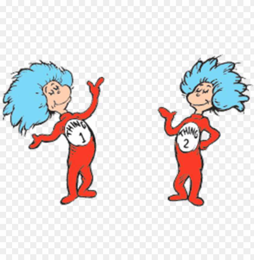 thing 1 and thing 2 google search cat in the hat party.