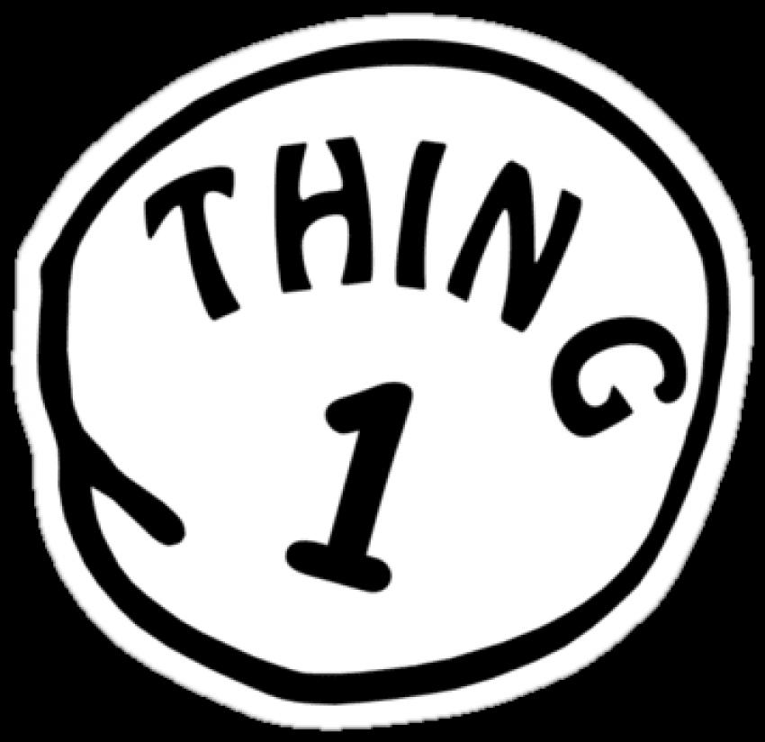 Free Png Download Inspirational Thing 1 Thing 2 Printable.
