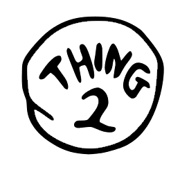 Thing 2 Png & Free Thing 2.png Transparent Images #49049.