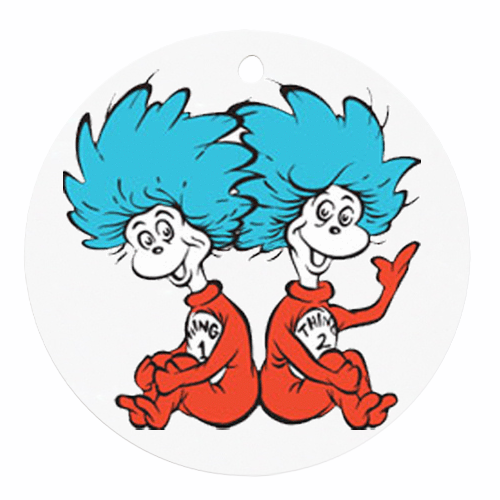 Thing One And Thing Two Clip Art.