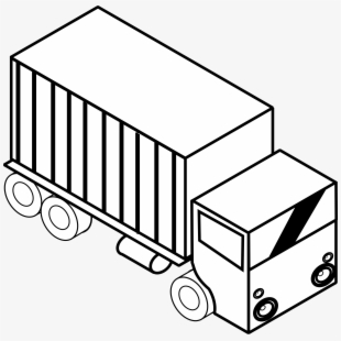 PNG Toy Truck Black And White Cliparts & Cartoons Free.