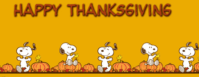 Happy Thanksgiving: 5 Things I\'m Thankful For.