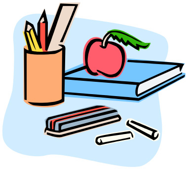 Things In The Classroom Clipart.