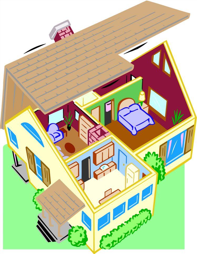 Home Cartoon Image.
