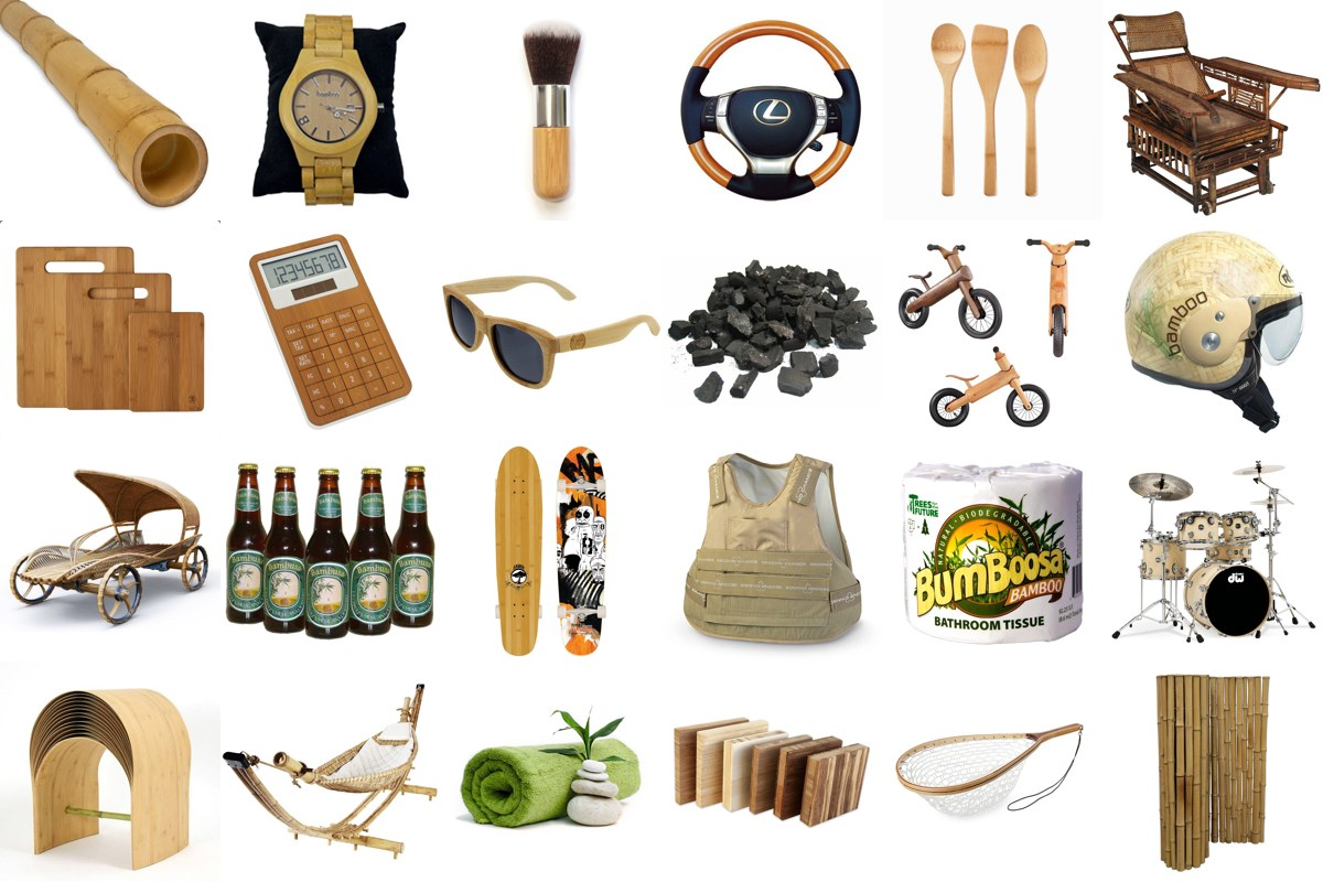 1000 Products Made from Bamboo.