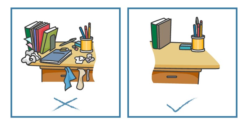 Enhance your productivity with these simple desk hacks.