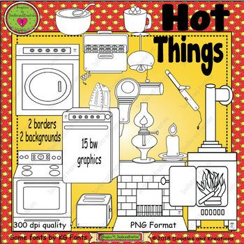 Hot Things ClipArt.