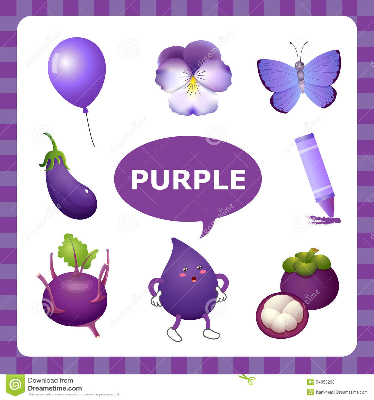 Violet things clipart 2 » Clipart Station.