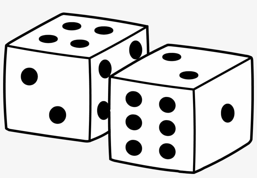 Simple Playing Dice Design.