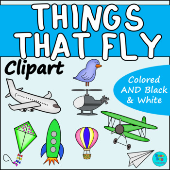 Things that Fly Clipart.