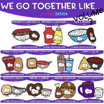 We Go Together Clipart Volume 2.