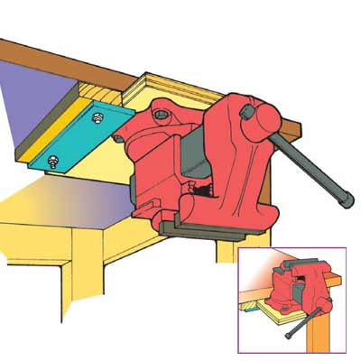 Simple Ways to Make Your Workbench Work Harder.