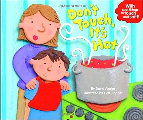 Don\'t Touch Hot Stove Clipart.