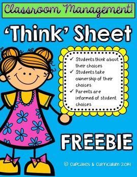 Think Sheet.