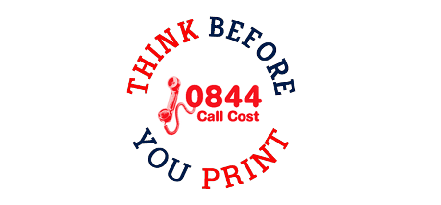 Do you have a new 084 or 087 number? Think before you print.