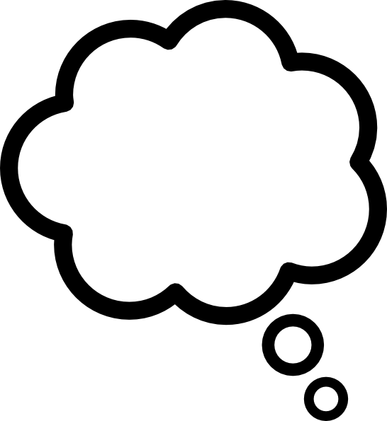 Thought Bubble PNG Transparent Images.