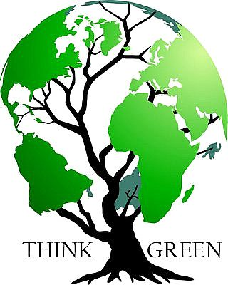 think green earth tree.