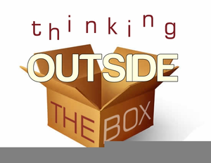 Clipart Thinking Outside The Box.