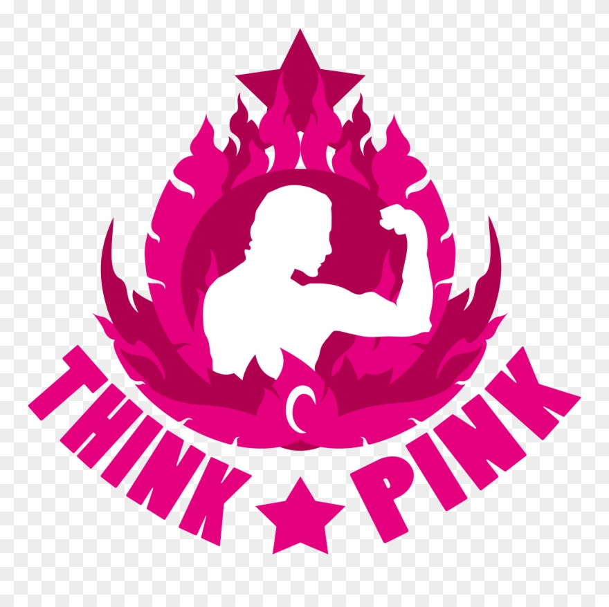 Think Pink Clipart (#1253070).