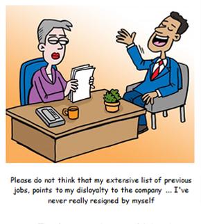 Что рекрутеры думают о том, когда кандидат часто меняет место.