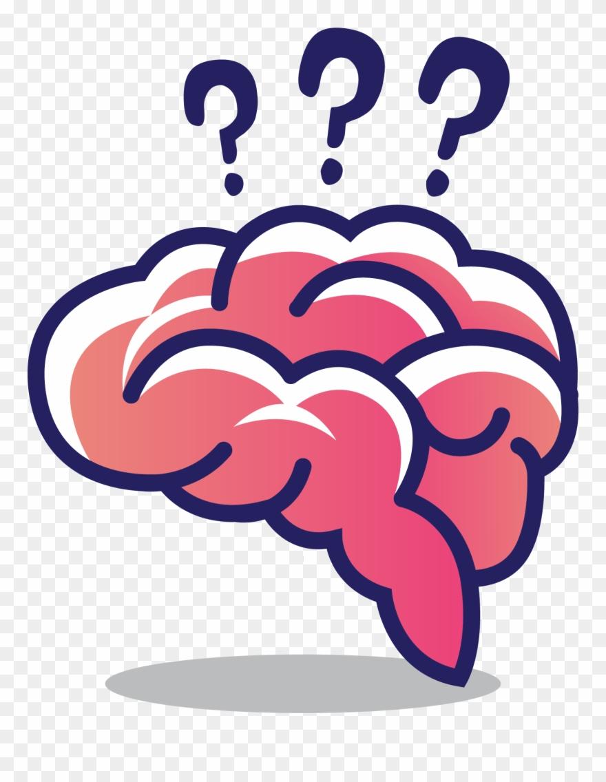 Cerebrum Clip Art Thinking Transprent.