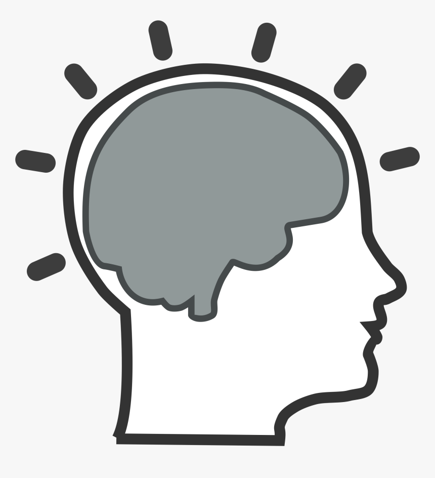 Thinking Brain Clipart For Kids Png.