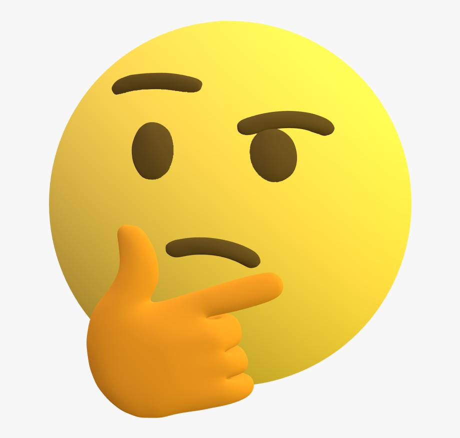 Emoji Thinking Png.