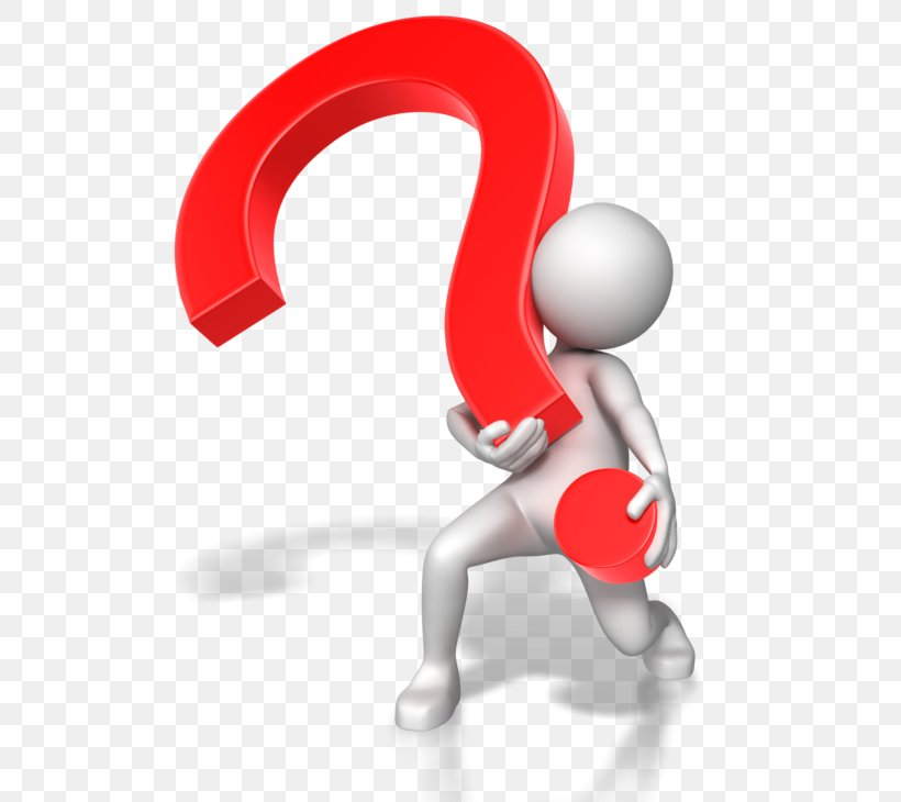 Question Mark Animation Stick Figure Presentation Clip Art.