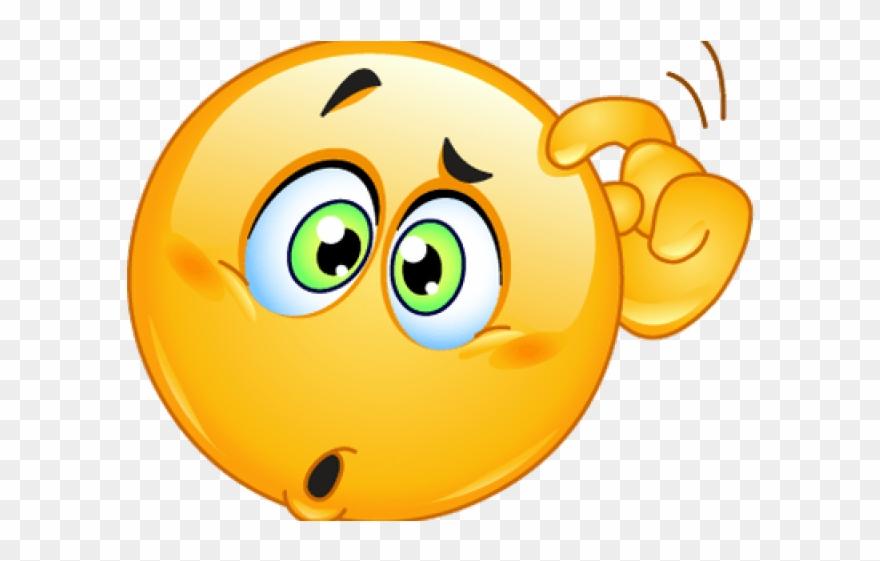 Sad Emoji Clipart Thinking.