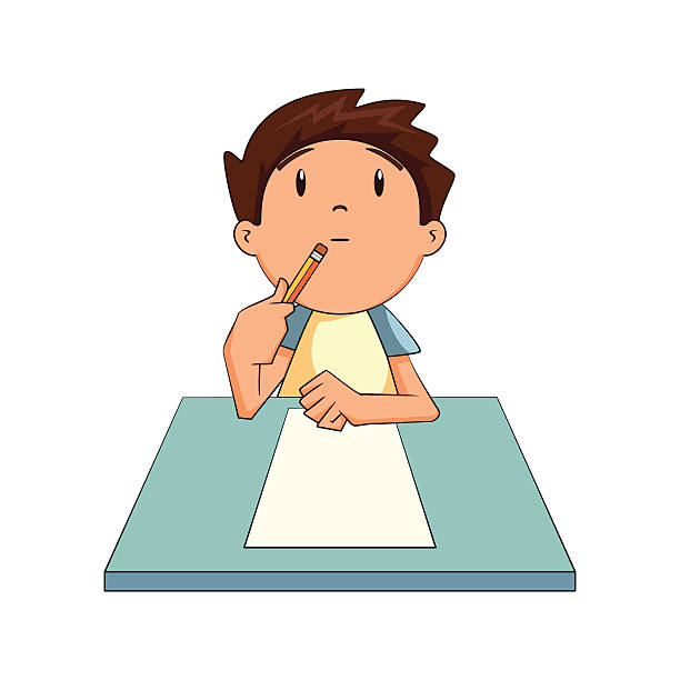 Thinking kid clipart 2 » Clipart Station.