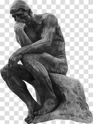 The Thinker statue, The Thinker Bronze sculpture Statue.