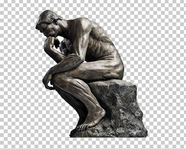 The Thinker Statue Thought Sculpture PNG, Clipart, Art.