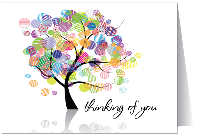 Thinking Of You Today Clipart.