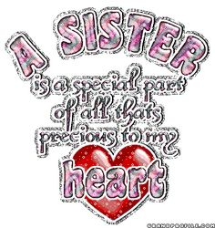 Thinking Of You Sister Clipart.