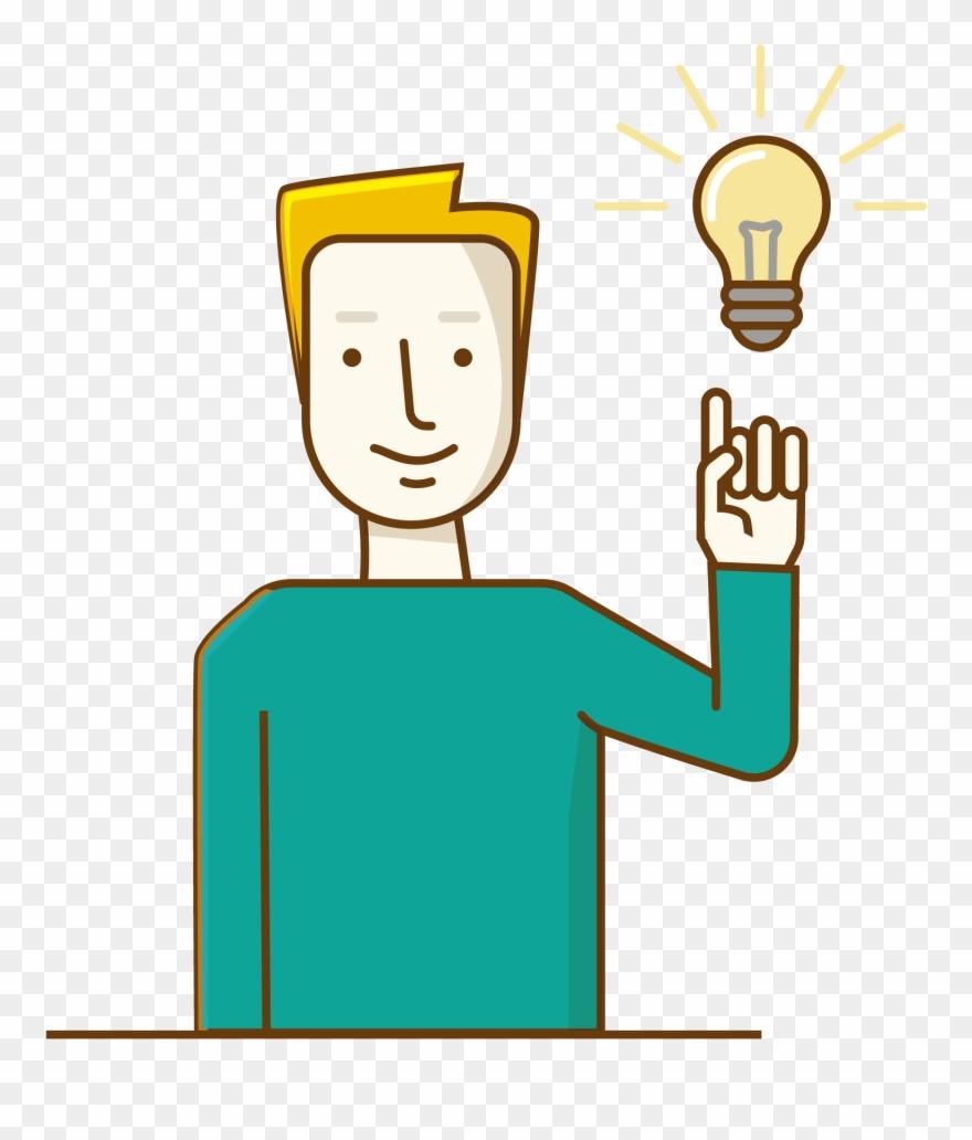 Idea Clipart Head Thinking.