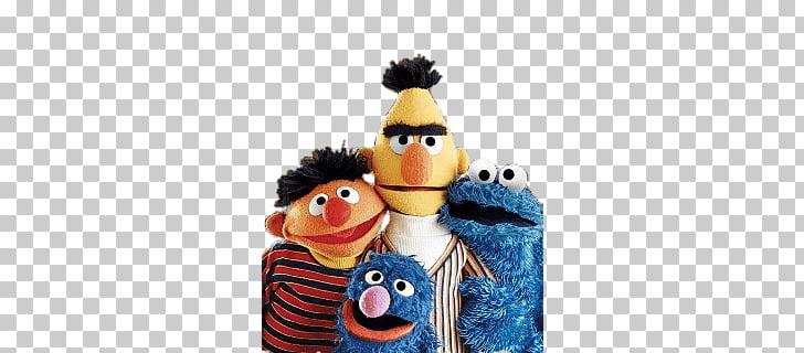 Sesame Street Group Photo, four Sesame Street characters.