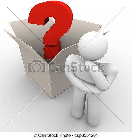 Think Out Of The Box Clipart.