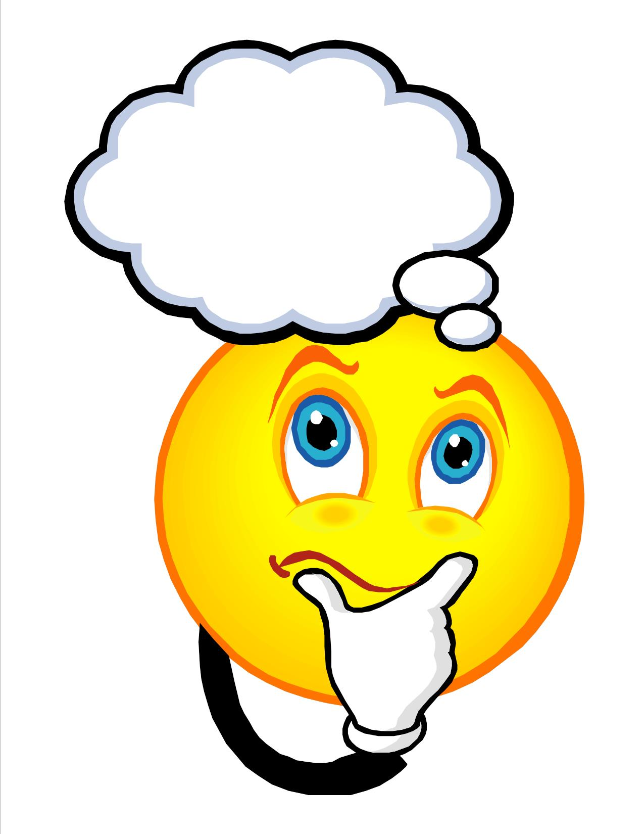 clipart face with question mark #19