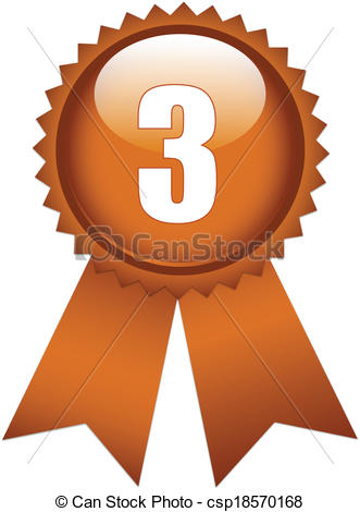 Third place clipart.