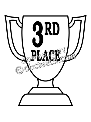 Third Prize Clipart.