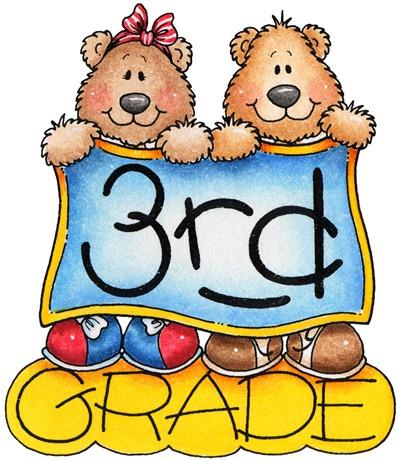 clipart decpoupage Third Grade.