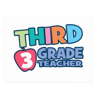 Third Grade Teachers Cards.