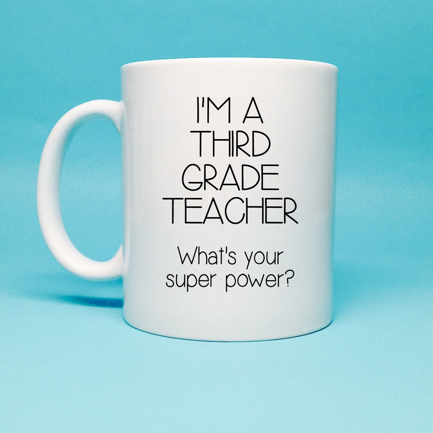 Third Grade Teacher Gift Gift For 3rd Grade by TheCoffeeCorner.